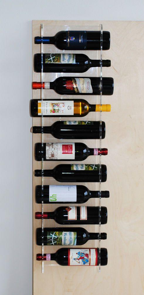 Oltre 25 fantastiche idee su portabottiglie vino su pinterest candele bottiglia di vino tappi - Porta vino da parete ...