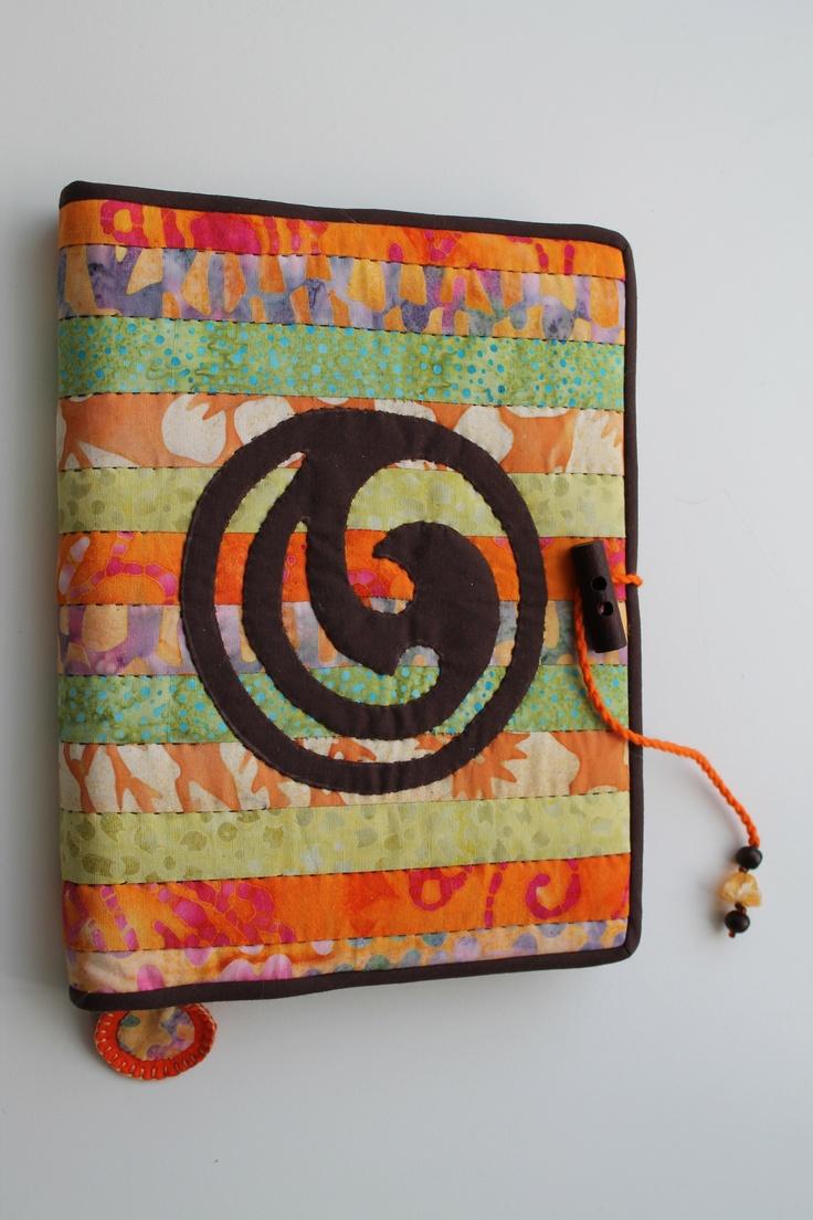 Handmade Travel journal with Maori symbol