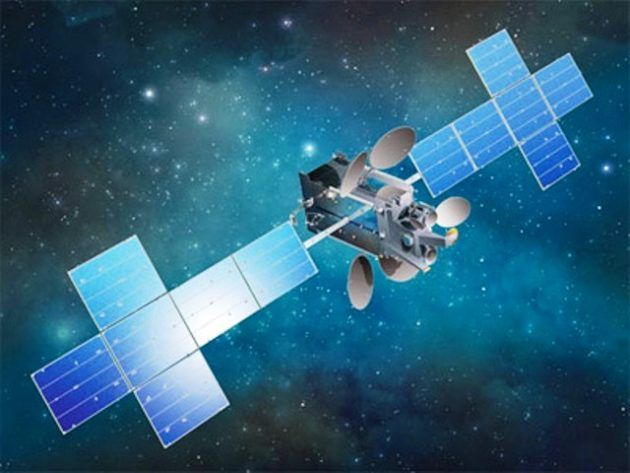 An artists conception shows the EchoStar 23 satellite in orbit. (EchoStar Illustration)  SpaceX is readying a Falcon 9 rocket for the launch of the EchoStar 23 communications satellite a mission requiring so much oomph that the company wont even try landing the first-stage booster afterward.  Liftoff is set for as early as 1:34 a.m. ET Tuesday (10:34 p.m. PT tonight) fromLaunch Complex 39A at NASAs Kennedy Space Center in Florida. The launch opportunity lasts two and a half hours but weather…
