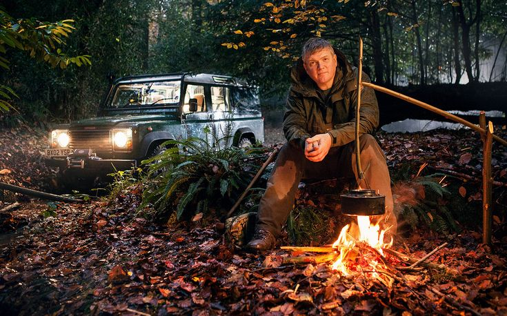 Me and My Motor: Ray Mears, survival expert, would go wild if he lost his Defender