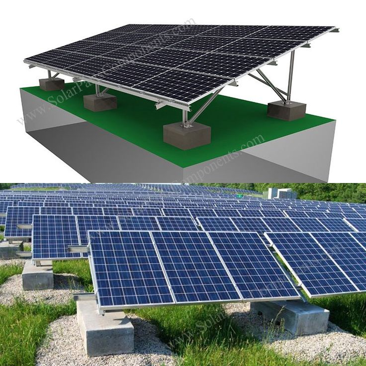 Solar Panel Ballast Mounting System in 2020 Solar, Solar