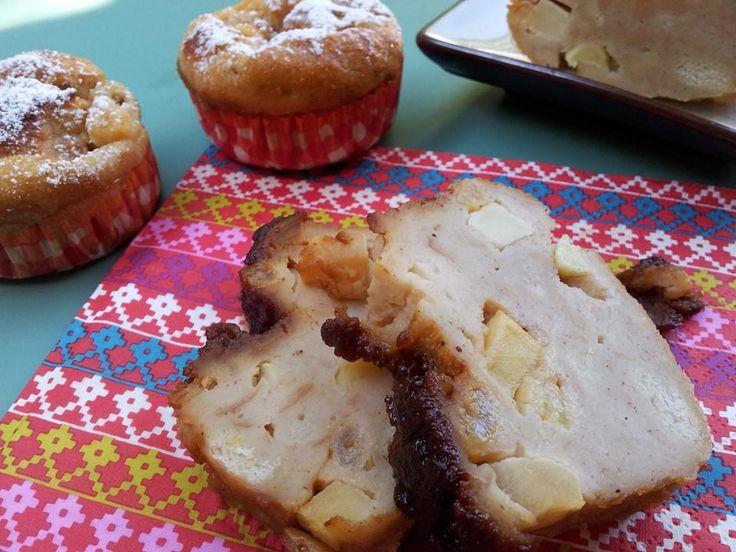Colegiales o Budín de pan bajo en calorías. Esta es mi receta light de un postre clásico chileno muy familiar, económico y delicioso con manzanas y pasas.
