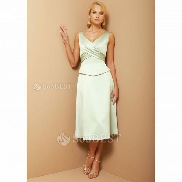 Mother of the bride dresses tea length mother of the for Vera wang tea length wedding dress