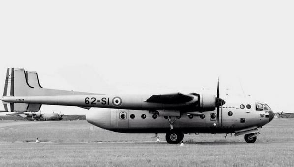 The Nord Noratlas was a 1950s French military transport aircraft.