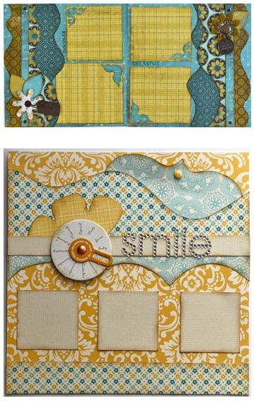 Kiwi Lane Designs giveaway on ScrapbookSteals. These templates are seriously SO COOL!