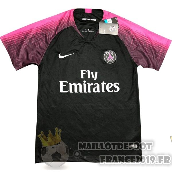 Maillot d'entrainement Nike du PSG NoirRose 2018
