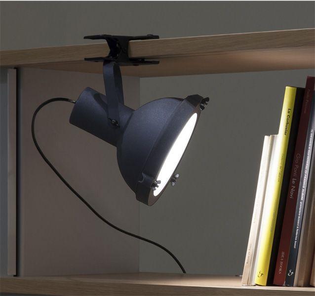 Projecteur 165 Klemmleuchte graublau