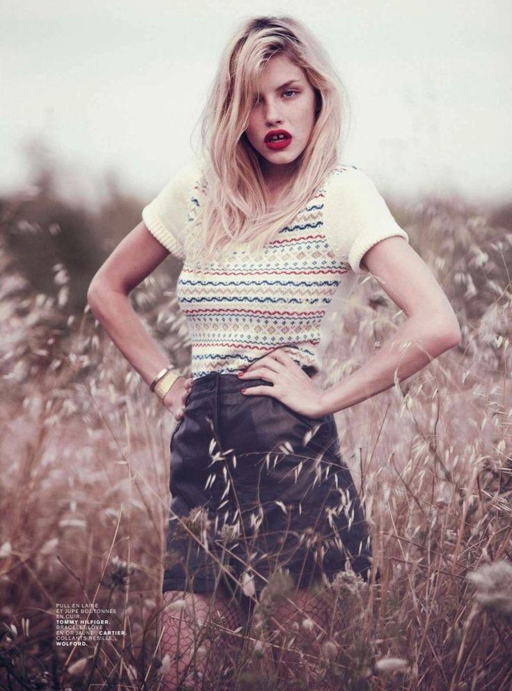 Ashley Smith by Paul Schmidt for Jalouse: Sweater, Editorial, Girls Fashion, Ashleysmith, Girl Models, Ashley Smith, Style Fashion, Top