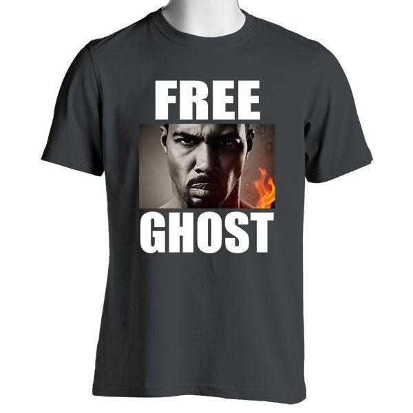 Free Ghost Short Sleeve T-Shirt James St. Patrick Power TV Show Shirt
