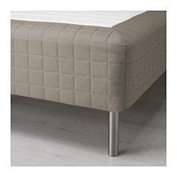 SKÅRER 脚付きマットレス, かため, ダークベージュ - かため/ダークベージュ - IKEA