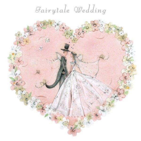 Cards » Fairytale Wedding » Fairytale Wedding - Berni Parker Designs