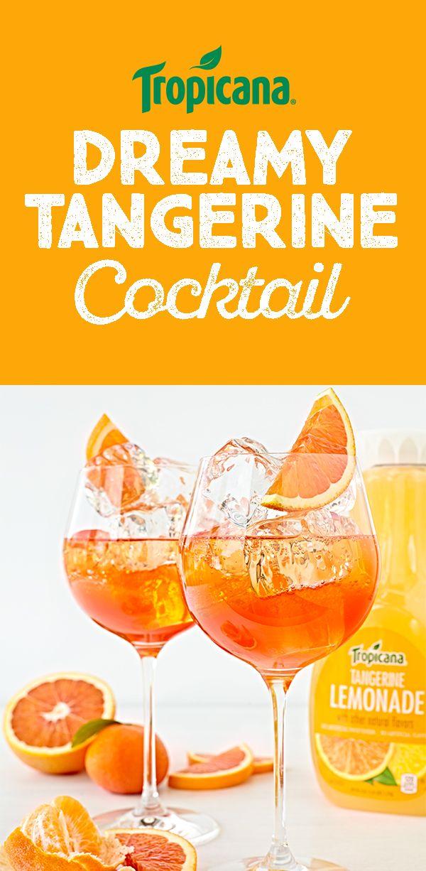 Beautiful Dreamy Tangerine. Girl ThingsPatioMimosasPunchHappy Hour DrinkingEntertainingCocktailsBeverages