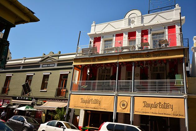 The Royale Eatery is popular for their gourmet burgers and wonderfully vintage look. They currently have a variety of 50 gourmet burgers that will leave you spoilt for choice! http://www.citysightseeing.co.za/