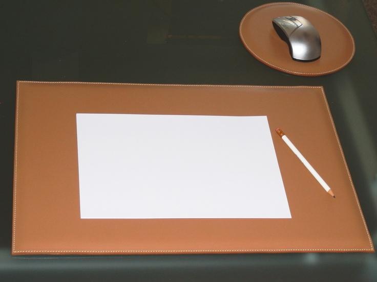 Set de bureau cuir