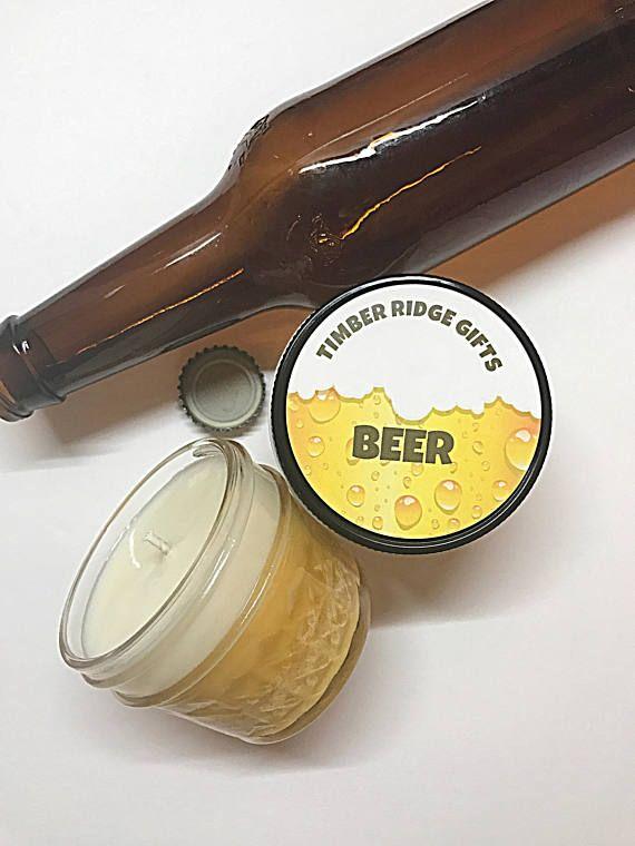 Beer Candle Beer Gifts For Men Beer Gift Beer Lover Gift