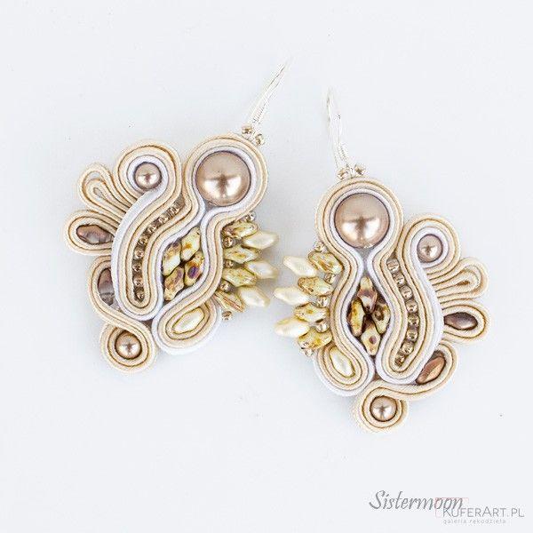 Panterka Kolczyki sutasz - Kolczyki - Biżuteria artystyczna