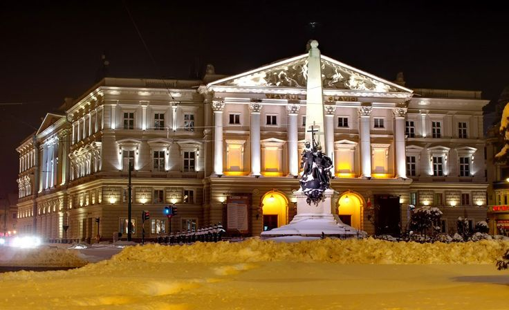 The Marvelous and stunning Ioan Slavici Classical Theatre in Arad Romania
