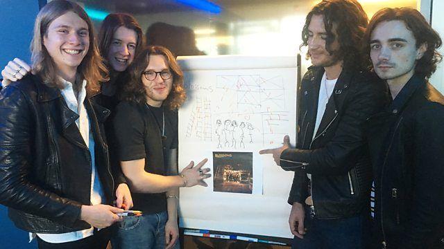 BBC Radio 1 - Live Lounge - Draw Your Album: Blossoms