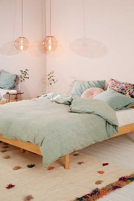 Interior Pastel Bedroom Ideas best 25 pastel bedroom ideas on pinterest room eyelet stripe duvet cover