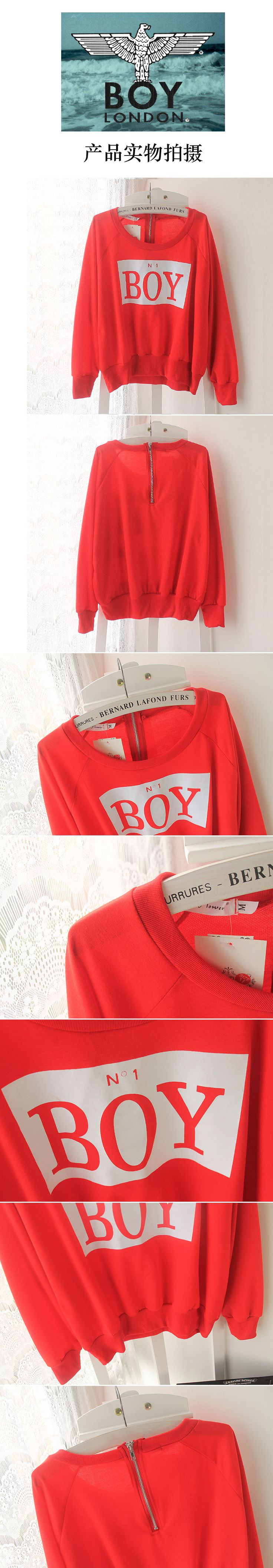 Street HARAJUKU letter red zipper gold batwing sleeve sweatshirt loose short sleeve T shirt female shirt-inHoodies & Sweatshirts from Women's Clothing & Accessories on Aliexpress.com | Alibaba Group