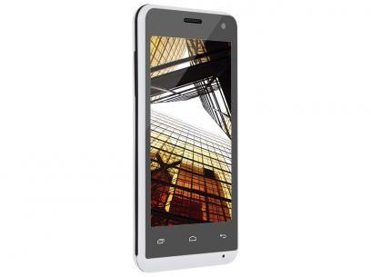 """Smartphone Multilaser MS40 4GB Dual Chip 3G - Câm. 5MP Tela 4"""" Proc. Quad Core Android 4.4 com as melhores condições você encontra no Magazine Bitstore. Confira!"""