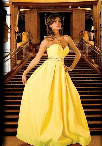 12 best Yellow wedding images on Pinterest | Short wedding gowns ...