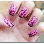 unhas de zebra 6 150x150 Unhas de Zebra Como fazer passo a passo