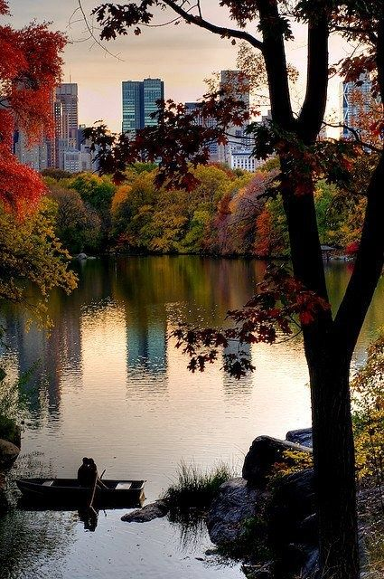 Central Park, New York - I will be there someday. I do believe, I will!