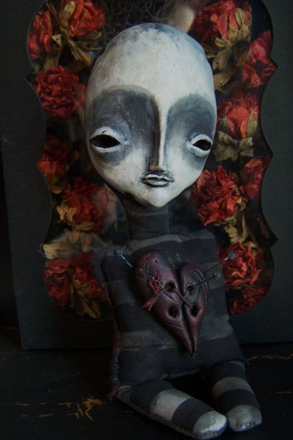 Lil Hoo Doo II doll by Macabre by doctormorose on Etsy, $70.00