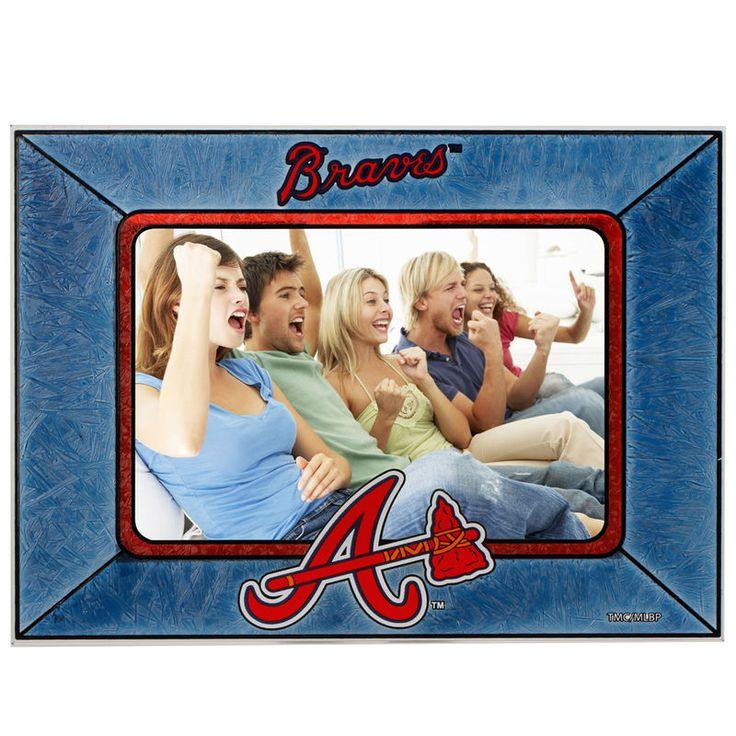 Atlanta Braves Horizontal Art Glass Frame
