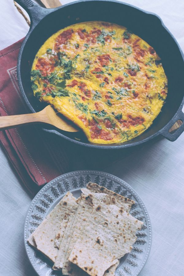This was the best omelette I have ever tasted. Ate it for dinner. via @SpiceSpoon | Shayma