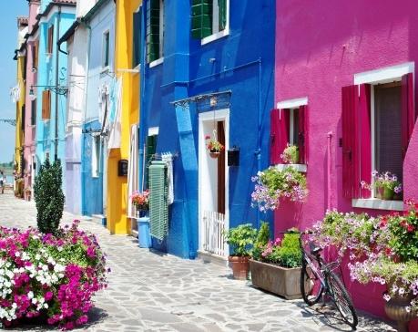Colours in Venice