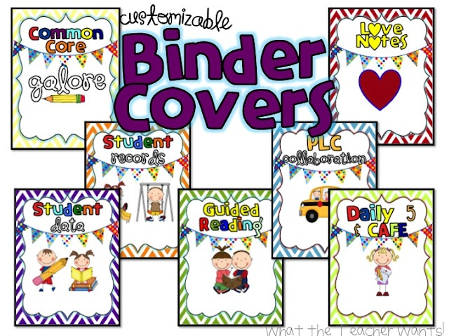 cute binder covers
