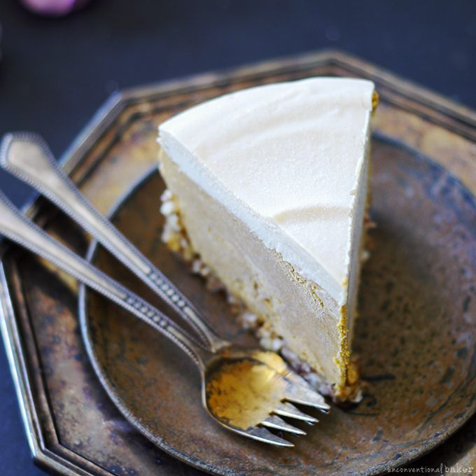 Pumpkin Cheesecake {No-Bake and Free From: gluten & grains, dairy, eggs, and refined sugars}