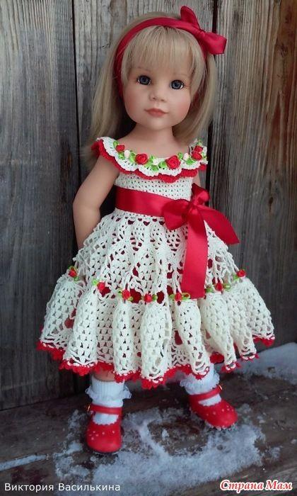 Вязаные платья для кукол!: Фото альбомы - Страна Мам