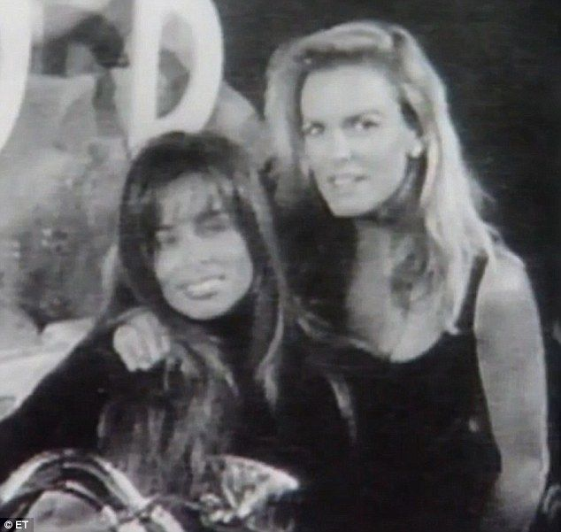 'I was enjoying this. I wasn't scared anymore. It was wonderful... being with her,' Faye Resnick revealed of her lesbian tryst with friend Nicole Brown Simpson