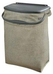 Hidden Recycling Bin - contemporary - kitchen trash cans - Home Depot