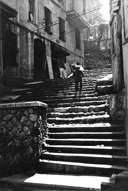 Istanbul Beyoglu Stairs