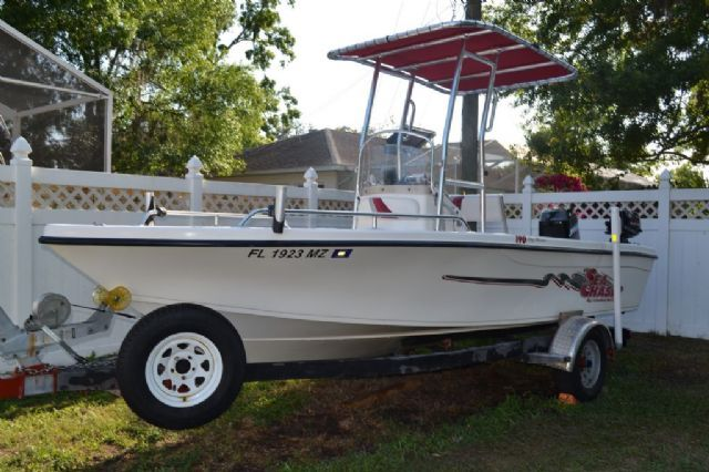 19 feet  2002 Carolina Skiff Sea Chaser Center Console , 190 miles for sale in Sarasota, FL