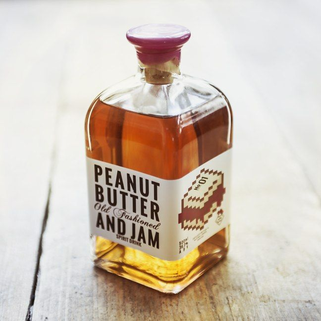 Peanut Butter and Jam Old Fashioned - Punchy and Smooth