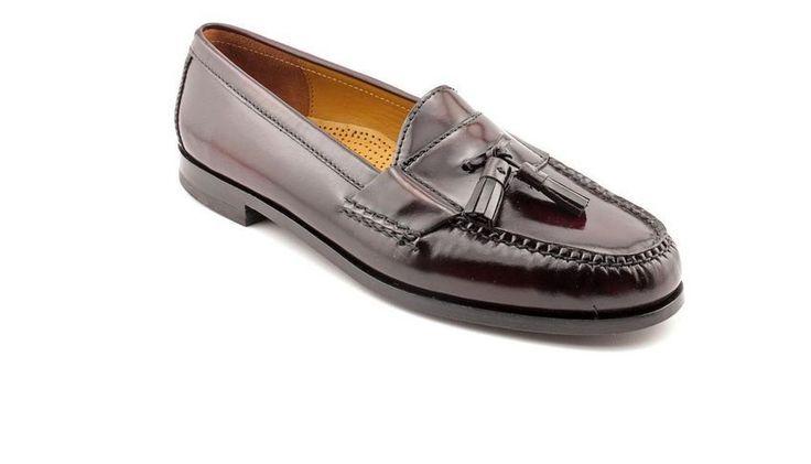 ColeHaan Men's Casual-PINCH Tassle Loafers Shoes 9.5D Burgandy-EXCELLENT!  | Clothing, Shoes & Accessories, Men's Shoes, Casual | eBay!