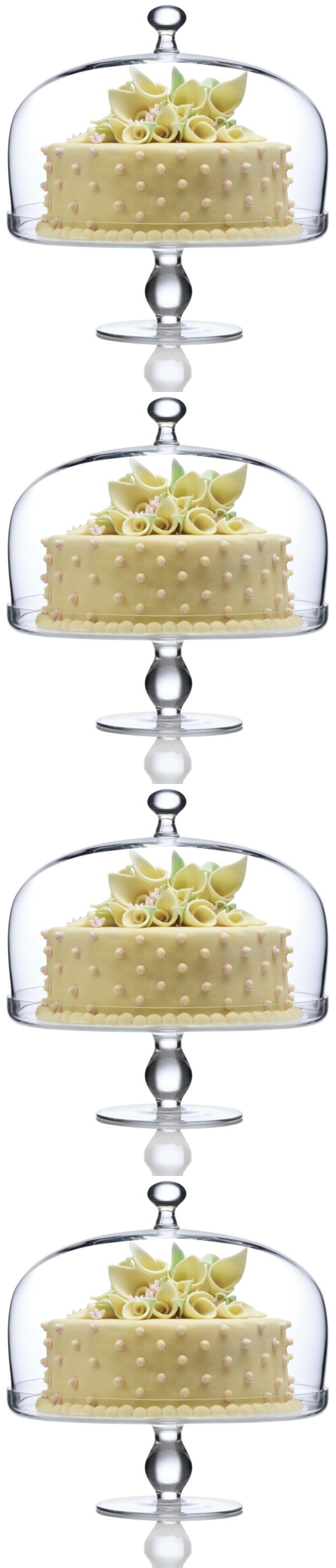 Cake Stands 177010: Luigi Bormioli Michelangelo Masterpiece Footed Cake Plate With Dome Cover -> BUY IT NOW ONLY: $58.52 on eBay!
