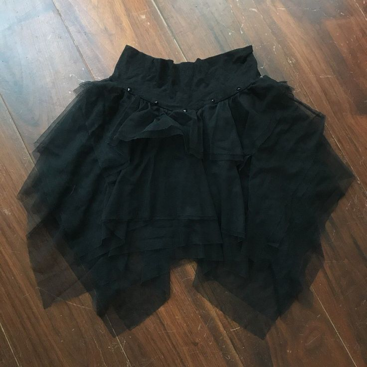 "LIP SERVICE Black N Blue Ballerina ""Plie Party"" mini skirt #26-106 - black or blue"