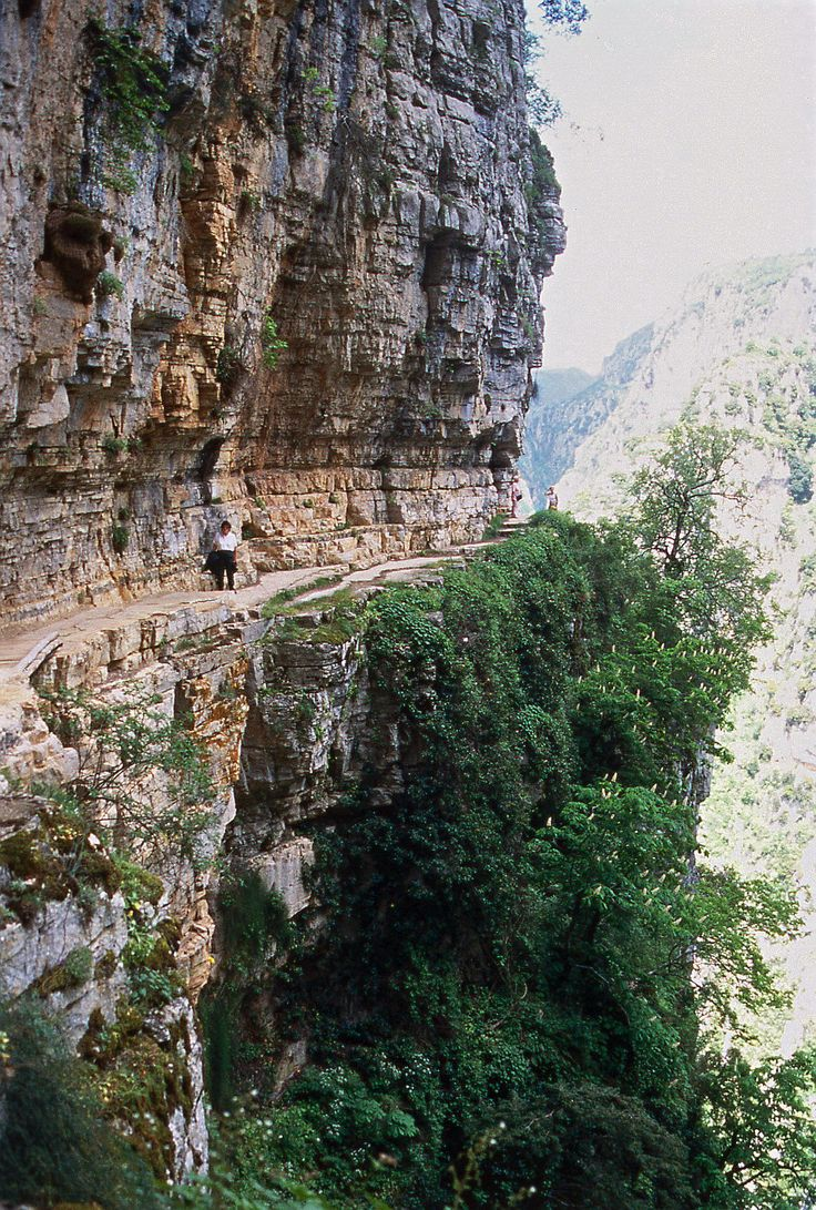 Come for a walk on the wild side! Monodendri is definitely off the beaten track in Vikos Gorge. Epirus region, Greece
