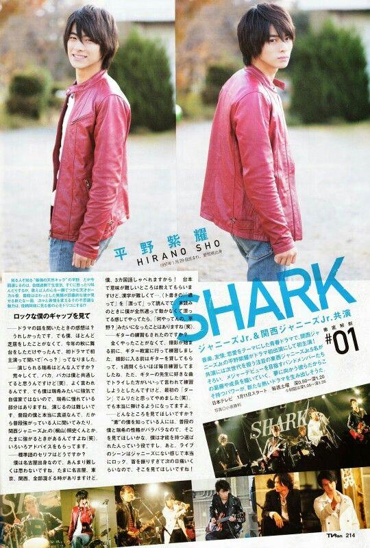sho hirano in shark