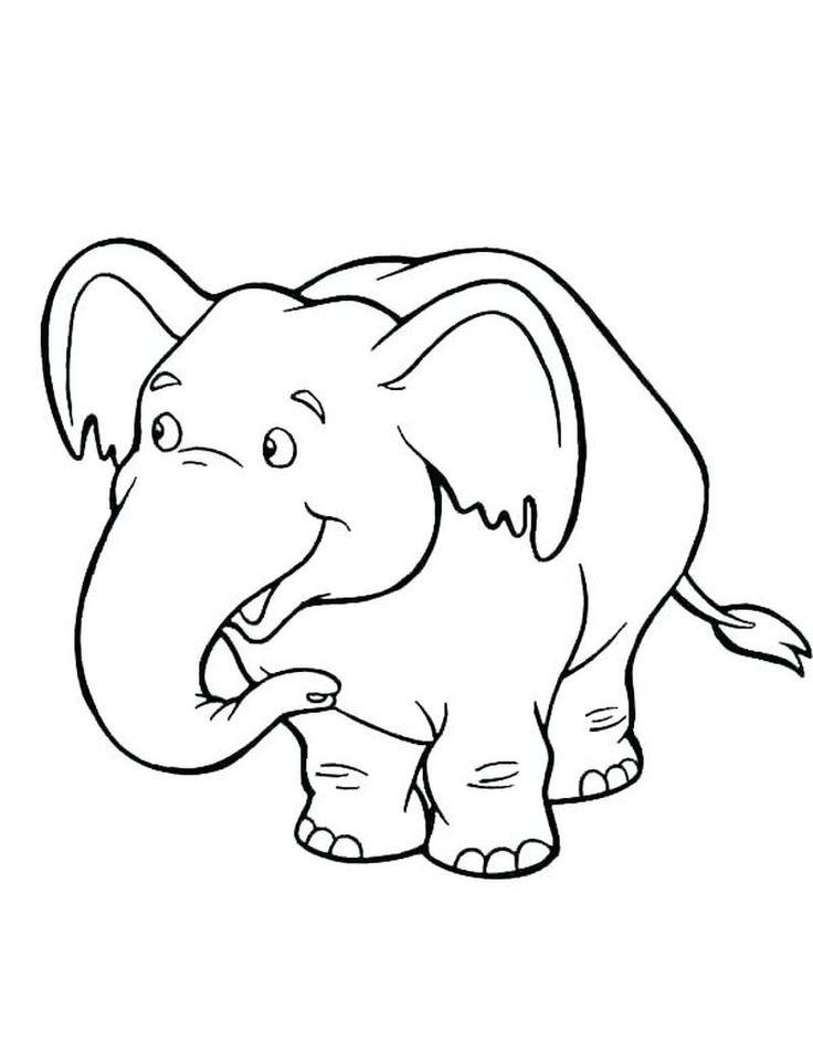 elefant ausmalbilder  malvorlagen für kinder zum