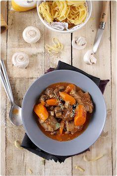 Le veau marengo #Meat #Viande #Cuisine #Cooking #Recette #Recipe #Veau #Veal