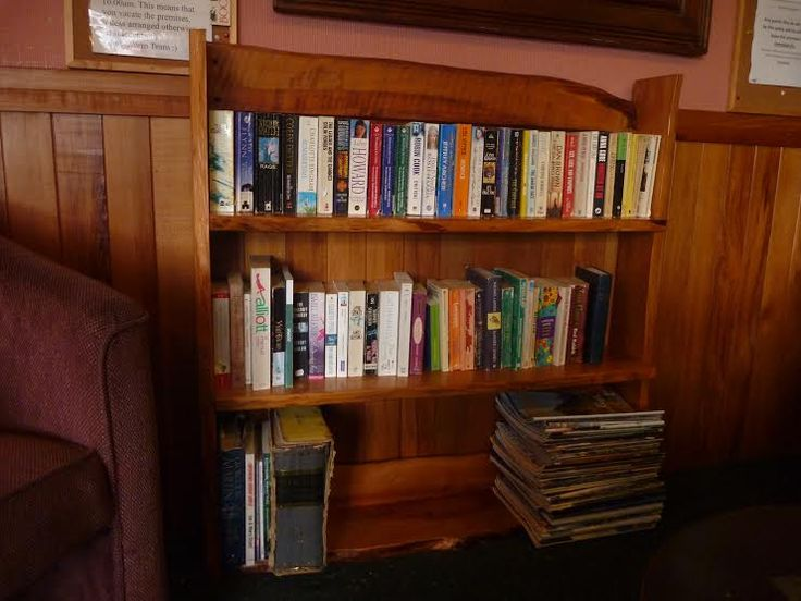 Check out the updated book exchange at Glow Worm Cottages in Franz Josef! Swap your book with one on the shelf when you come and stay!