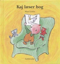 Kaj læser bog af Mats Letén