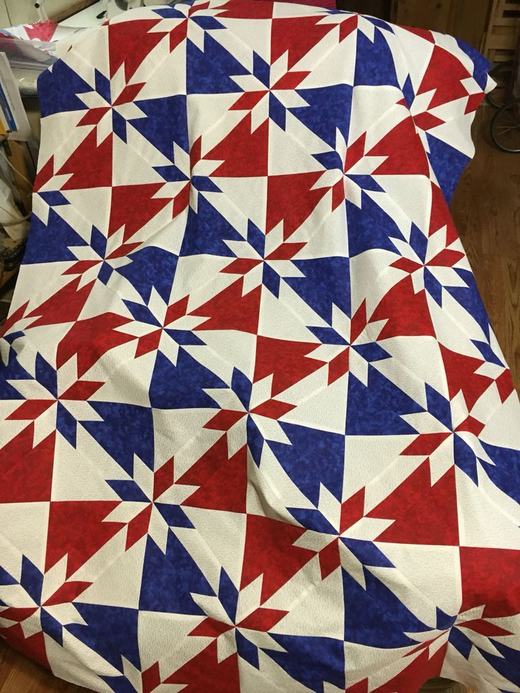 Quilt of Valor still in progress - *if* I ever decide to do Hunter's star